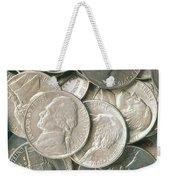 U.s. Nickels Weekender Tote Bag