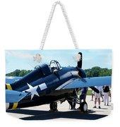 Us Ww II Fighter Plane Weekender Tote Bag