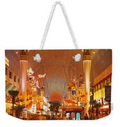 Usa, Nevada, Las Vegas, Night Weekender Tote Bag