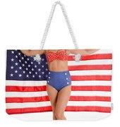 Usa Pinup Girl Weekender Tote Bag