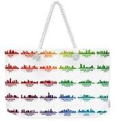 Usa Skylines Weekender Tote Bag