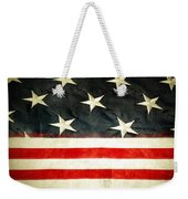 Usa Stars And Stripes Weekender Tote Bag by Les Cunliffe