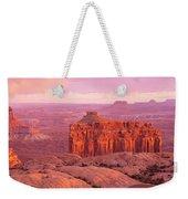 Usa, Utah, Canyonlands National Park Weekender Tote Bag