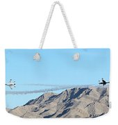 Usaf Thunderbirds Precision Flying Two Weekender Tote Bag