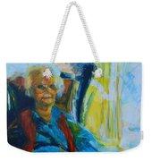 Use 2b So Ez - Alzheimer's Perch - The Long Good-bye Weekender Tote Bag