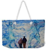Use 2b So Ez - Still We Dance - The Long Good-bye Weekender Tote Bag