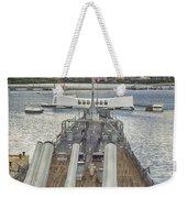 Uss Arizona Memorial-pearl Harbor V4 Weekender Tote Bag