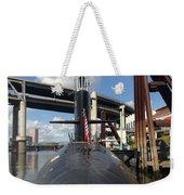 Uss Blue Back Submarine Weekender Tote Bag
