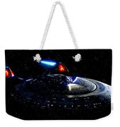 Uss Enterprise Weekender Tote Bag