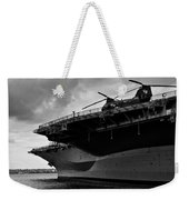 Uss Midway Helicopter Weekender Tote Bag