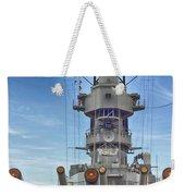 Uss Missouri-pearl Harbor Hawaii Weekender Tote Bag