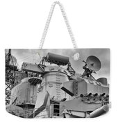 Uss Missouri- Radar System Weekender Tote Bag