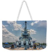 Uss North Carolina Weekender Tote Bag