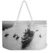 Uss Wyoming, C1912 Weekender Tote Bag