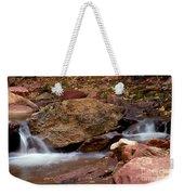 Utah Creek Cascades Weekender Tote Bag