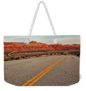 Utah Highway Weekender Tote Bag