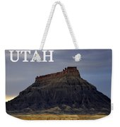 Utah Landscape Factory Butte Weekender Tote Bag