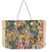 Utah Map Vintage Watercolor Weekender Tote Bag