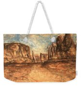 Utah Red Rocks - Landscape Art Weekender Tote Bag