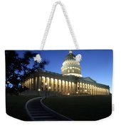 Utah State Capitol Building Weekender Tote Bag