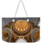 Utah State Capitol Rotunda Interior Archways Weekender Tote Bag by Gary Whitton