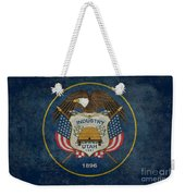 Utah State Flag Vintage Version Weekender Tote Bag