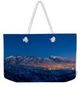 Utah Valley Weekender Tote Bag by Chad Dutson