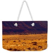 Utah Winter Sun Weekender Tote Bag