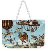 Utopian Flying Machines 19th Century Weekender Tote Bag