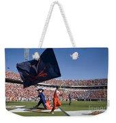 Uva Virginia Cavaliers Football Touchdown Celebration Weekender Tote Bag