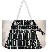 V For Vendetta Weekender Tote Bag