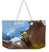 V Glorious Day Words Weekender Tote Bag