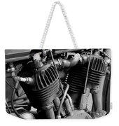 V-twin Engine Weekender Tote Bag