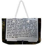 Va-wp13 Justin Holland Weekender Tote Bag