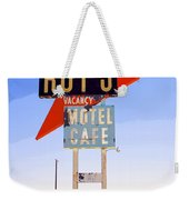 Vacancy Route 66 Weekender Tote Bag