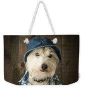 Vacation Dog Weekender Tote Bag