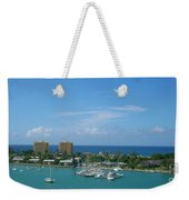 Vacation Weekender Tote Bag