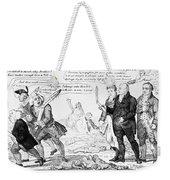 Vaccination Cartoon, 1808 Weekender Tote Bag