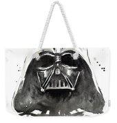 Darth Vader Watercolor Weekender Tote Bag