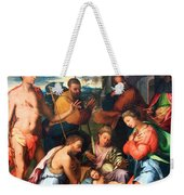 Vaga's The Nativity Weekender Tote Bag
