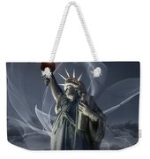 Light Of Liberty Weekender Tote Bag