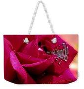 Valentine Dripping Wet Weekender Tote Bag
