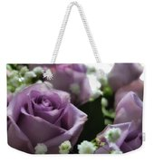 Valentine Purple Weekender Tote Bag