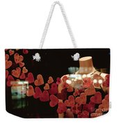 Valentine Window Display Weekender Tote Bag