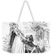Valentines Day, 1855 Weekender Tote Bag