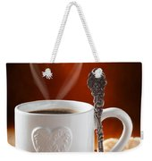 Valentine's Day Coffee Weekender Tote Bag