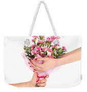 Valentine's Day Gift Weekender Tote Bag