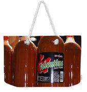Valentines Hot Sauce Weekender Tote Bag