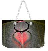 Valentines   Love Weekender Tote Bag