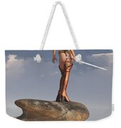Valkyrie On The Shore Weekender Tote Bag